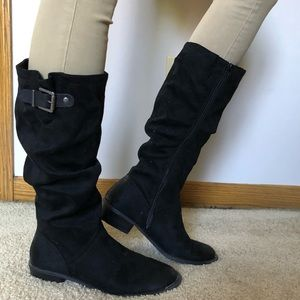 Bass Vanessa 8M Black Boots